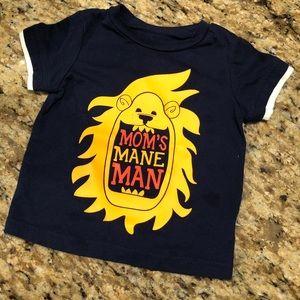 Toddler Boy's Short Sleeve Shirt (9M)